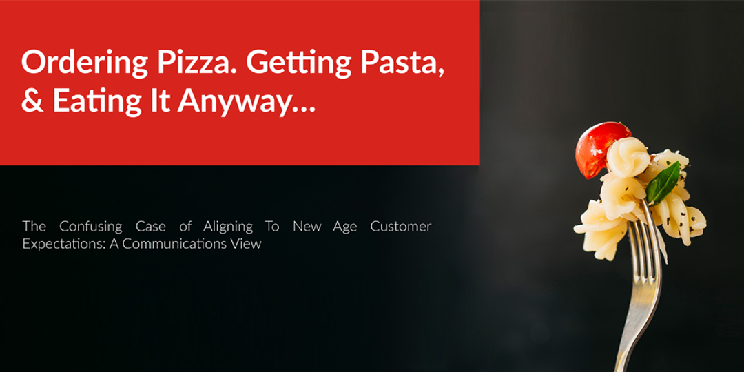Ordering Pizza. Getting Pasta, & Eating It Anyway…